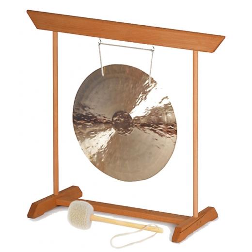 Fen Gong 50 mit Gongständer, Schlägel