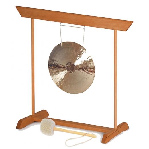 Fen Gong 40 mit Gongständer, Schlägel