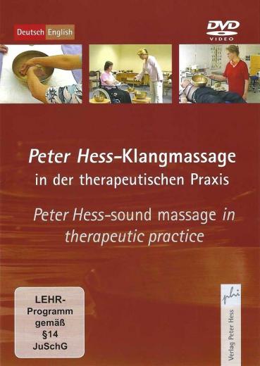 DVD Klangmassage in der therapeutischen Praxis