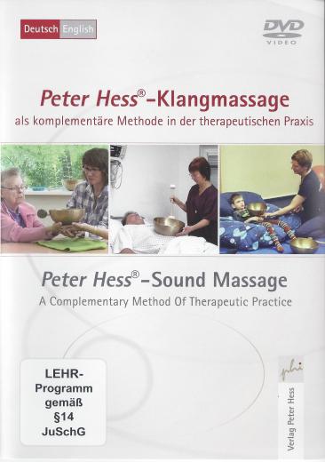 DVD Peter Hess-Klangmassage als komplementäre Methode in der therapeutischen Praxis