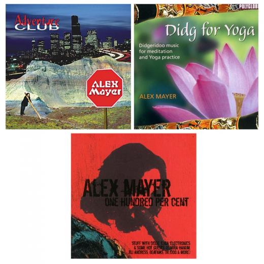 CD Set: Alex Mayer - Didjeridoo