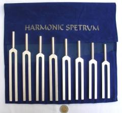 Harmonic Spectrum Tuning Fork Set