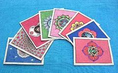 Chakra Postkarten Set