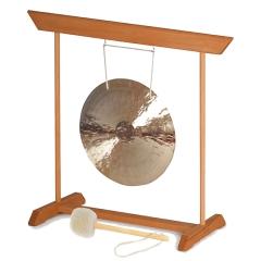 Fen Gong 45 mit Gongständer, Schlägel
