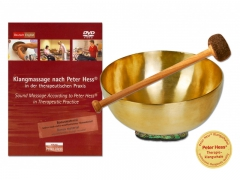 Universal Singing Bowl Set with DVD Therapeutic Use