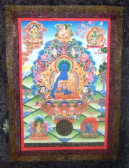 Medizin Buddha mit Buddhas