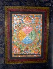 Chengreshi Mandala (4-färbig)
