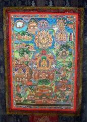 Buddhas Lebensgeschichte (sehr groß)