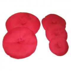 Kissen Set rot 10-22