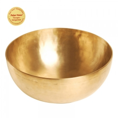 Singing bowl solar plexus