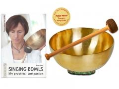 Set: Universal singing bowl - Mallett - Book Singing Bowls (english)