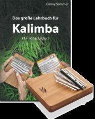 Set: Kalimba 17 mit Lehrbuch
